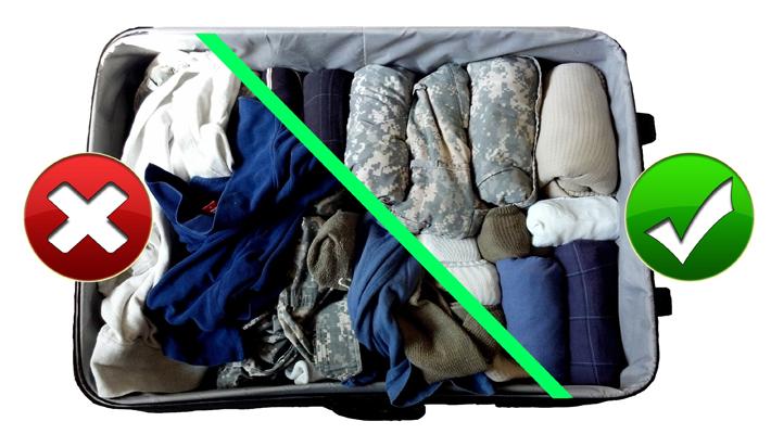 Preparar la maleta