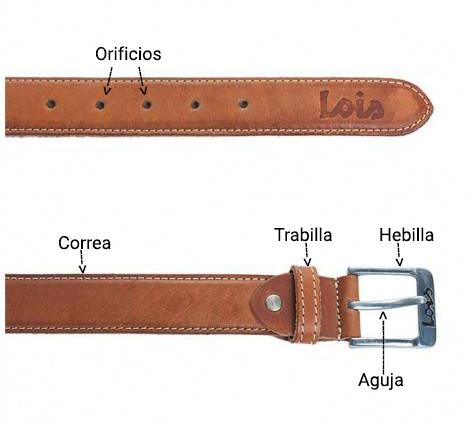 Partes del cinturón