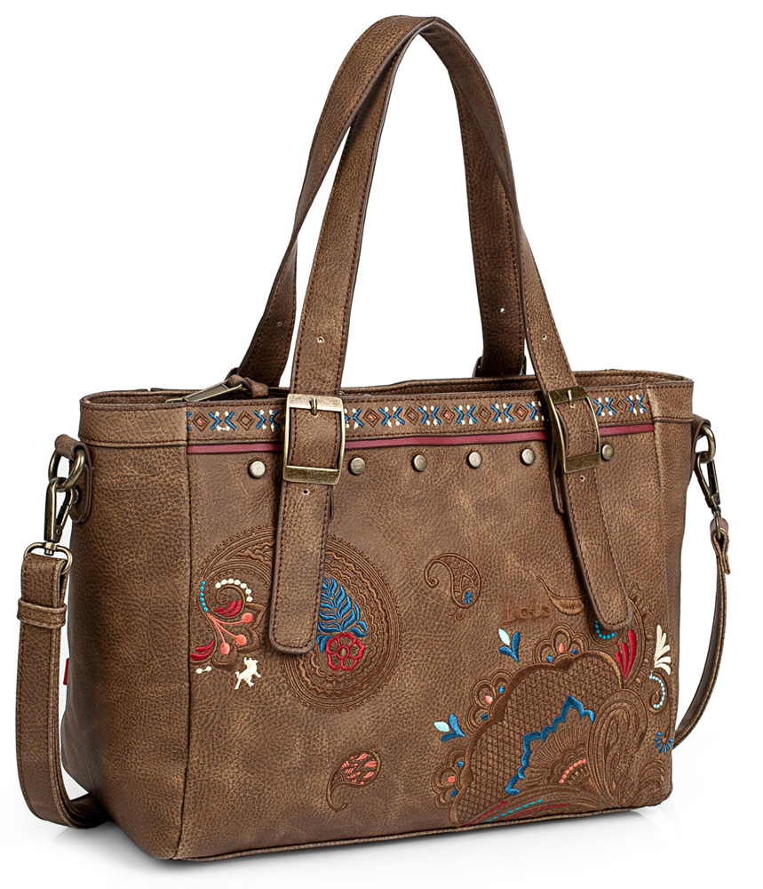 Bolso Shopping Lois Redwood