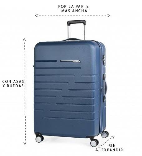 ¿Cómo medir la maleta de cabina?