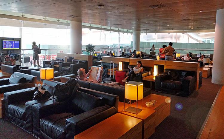 Sala VIP del aeropuerto