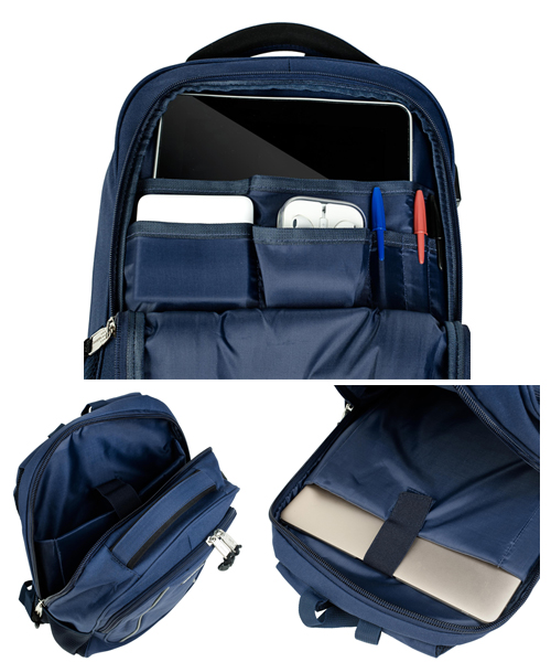 Interior mochilas tecnológicas