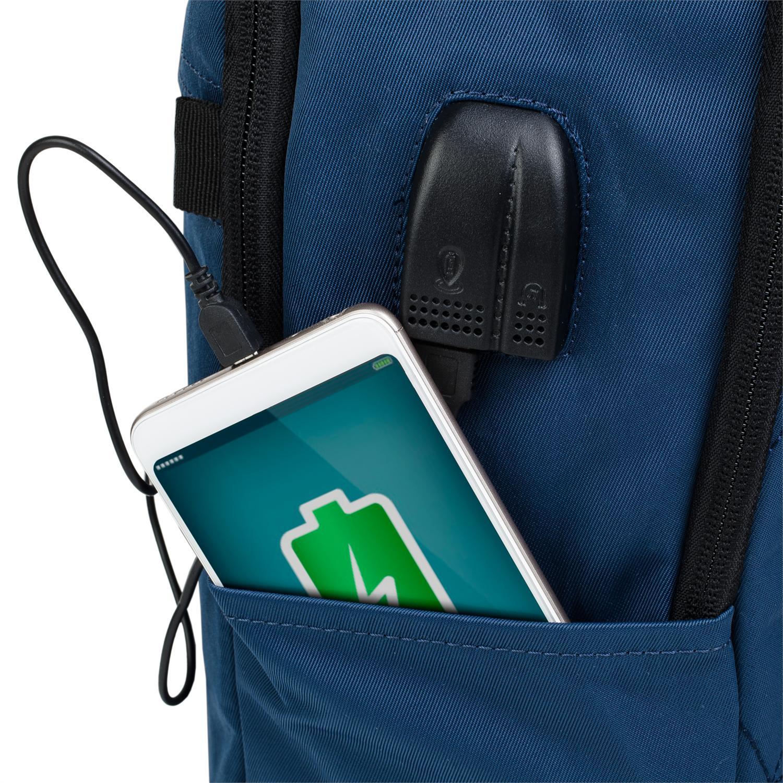 Mochila con USB integrado