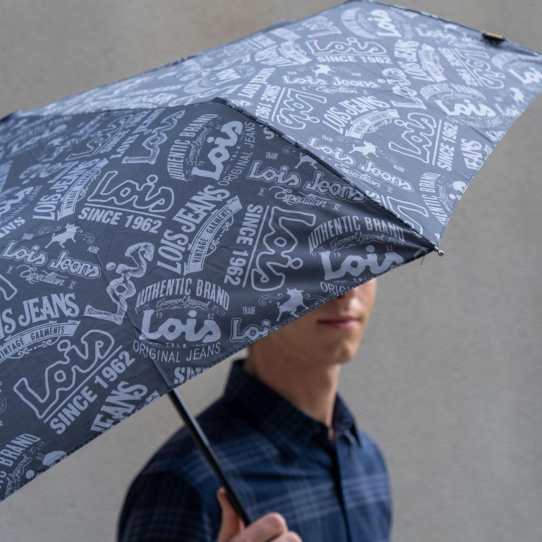 Paraguas Lois chico estampado